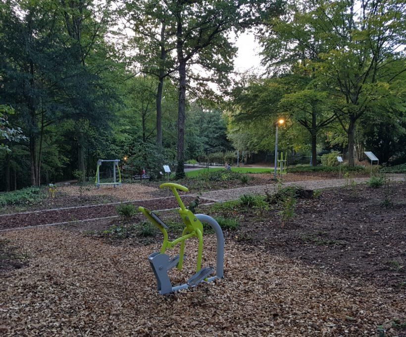 19. Okt. 2020:  Eröffnung des neuen Waldparks